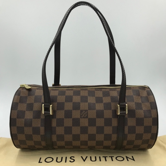 b94e98b4cfde Authentic Louis Vuitton Damier Ebene PAPILLON